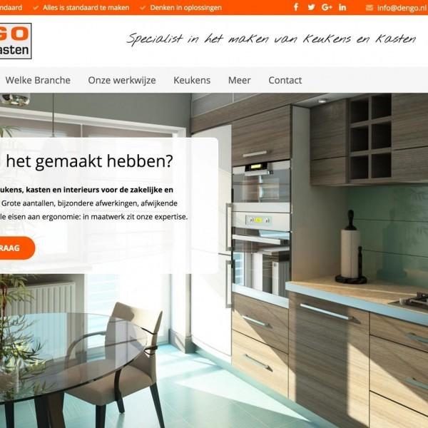 Screenshot website Dengo